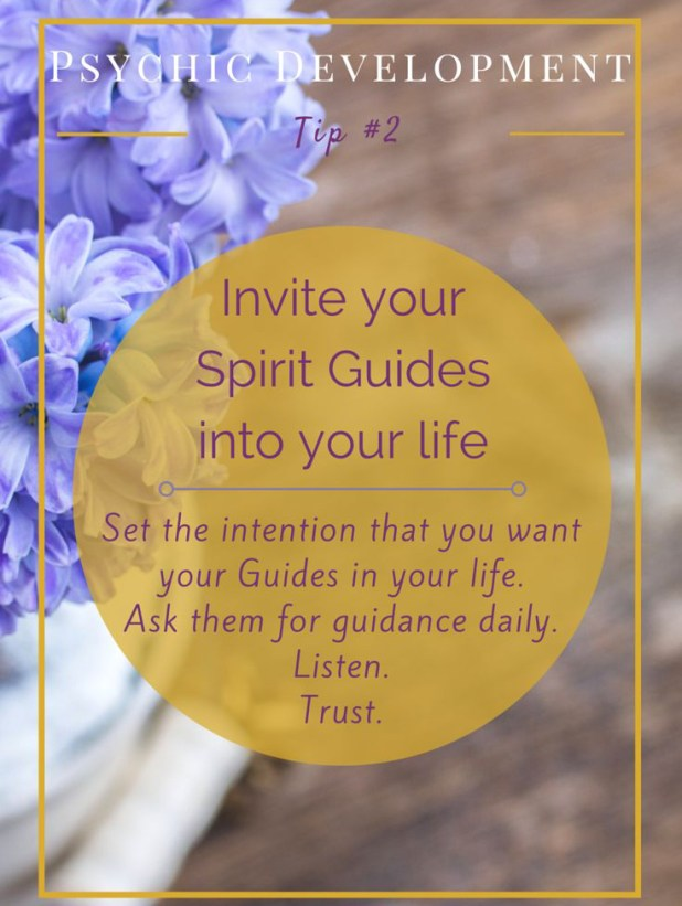 Asking Your Spirit Guide to Help You Daily