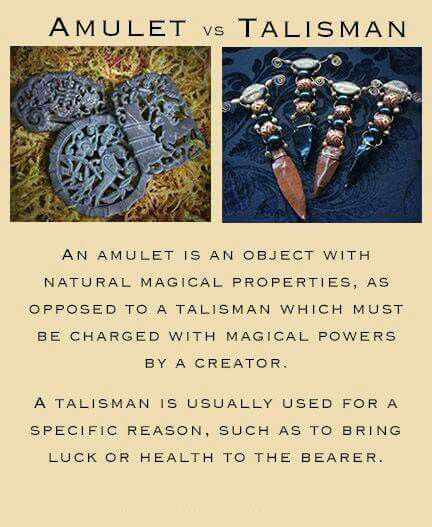 Would You Rather Have An Amulet Or Talisman