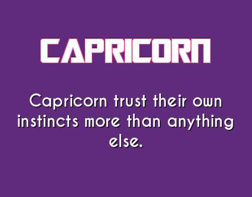 Capricorn Doesnt Trust That Easy