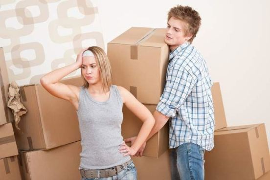 Moving is all about change and unfamiliarity