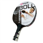 timo boll black table tennis racket