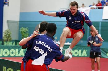 england table tennis team