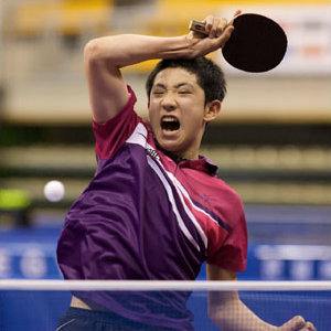 table tennis power