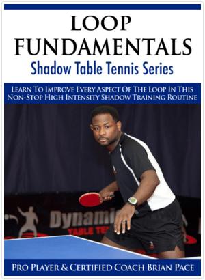 Dynamic Table Tennis Loop Fundamentals Shadow Training Series