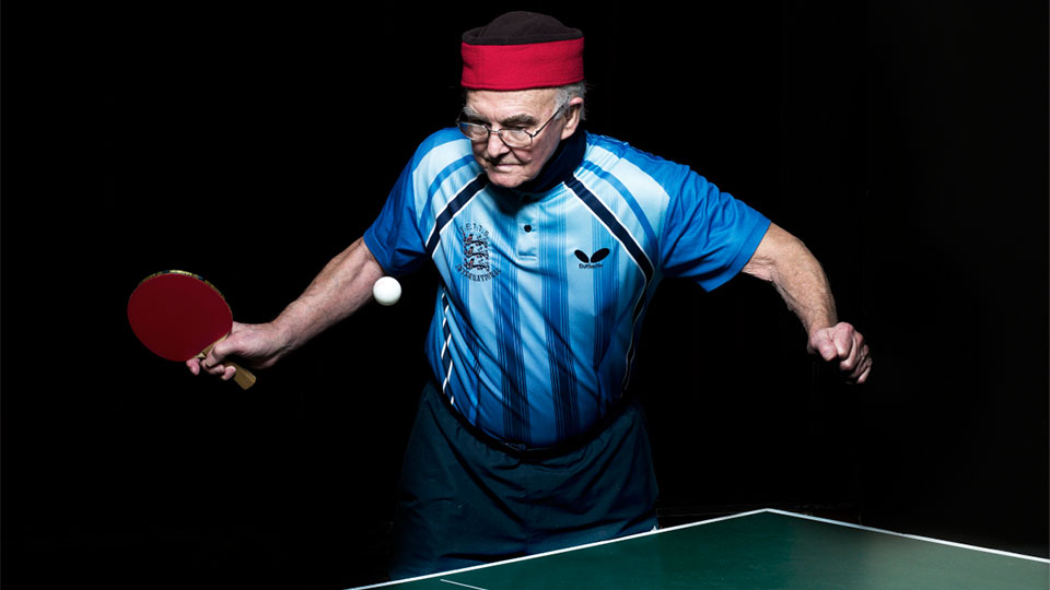 How to Play Great Table Tennis in Your 50s