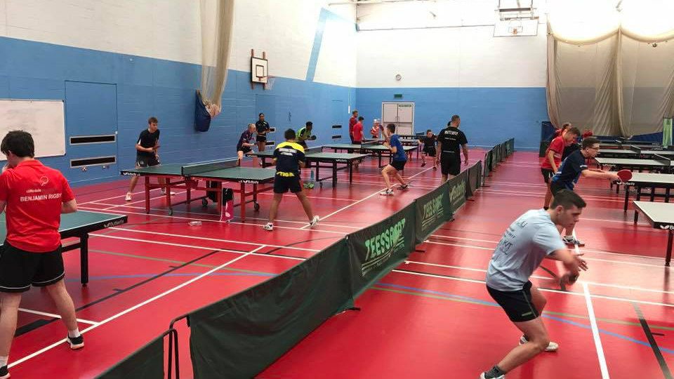 weekly routine table tennis training