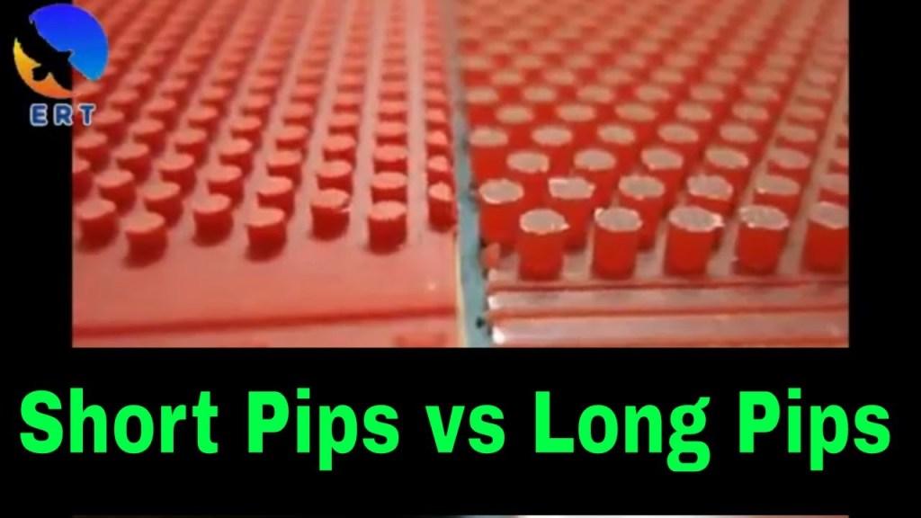 short vs long pips