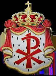 Escudo de la Hermandad de la Expiración de Linares (250 px altura)