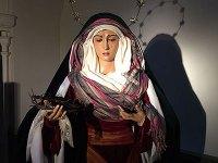 Histórico rosario de Martes Santo ante Ntra. Sra. de la Esperanza.