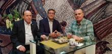 Entrevista a Francisco Cuevas y Manuel Amat en Televisión Linares.