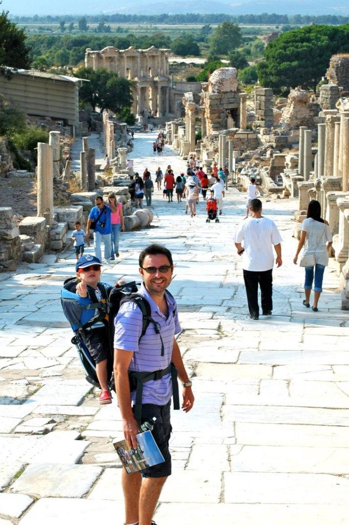 Ephesus with kids