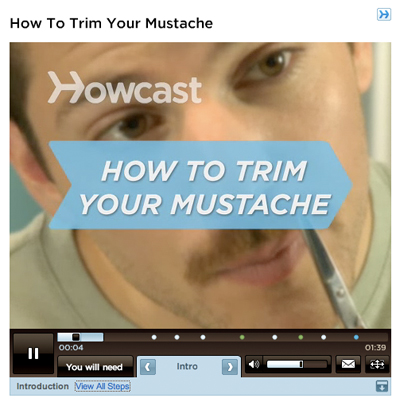 Howcast How to Trim Your Mustache