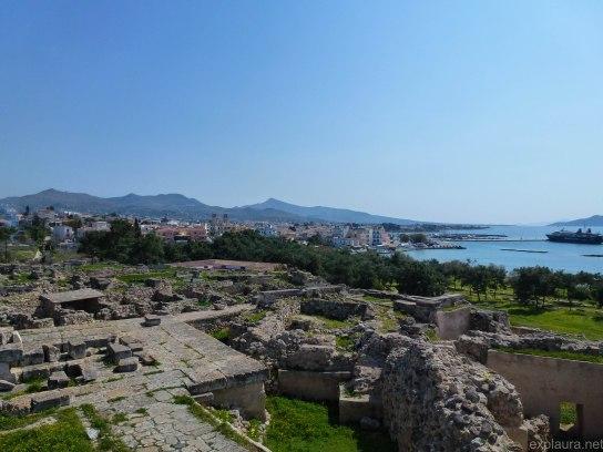Aegina town.