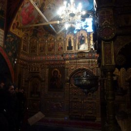 Inside St Basil's.