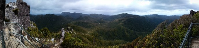 Panorama from the top of the Pinnacles :)