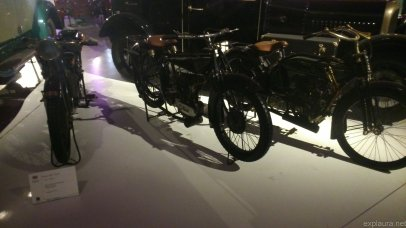 These bikes reminded me of Tintin!