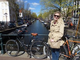 Ciara and the requisite Amsterdam canal shot.
