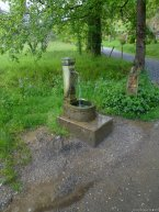 One of the many water fountains dotting the hike.