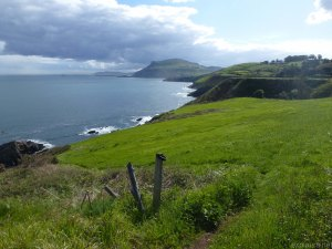 That distant headland is 14km into the day's hike. This photo is taken from just before Islares.