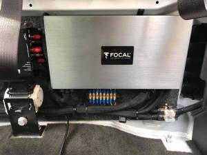 2015 GMC Sierra 2500 Focal K2 Speakers Focal Amplifers JL Audio Subwoofers   Explicit