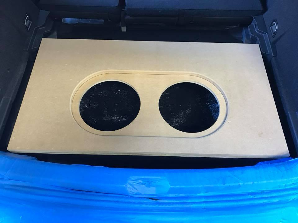 Volkswagen Vw Golf Fiberglass Box Installation In Spare