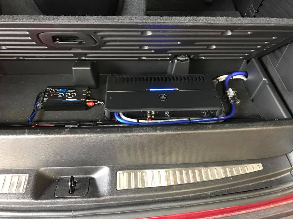 Chevy Tahoe Subwoofer Box Installation With Jl Audio