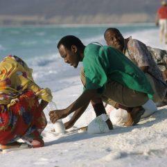 ramassage du sel las Assal