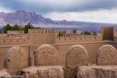 Iran,Dasht-e-Kevir, Rayen, foreteresse du Xe siècle // Iran, Dasht-e-Kevir, Rayen, 10th century fortress