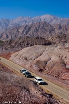 Iran, Kerman, vallée du Grand canyon près de l'oasis d'Hormak // Iran, Kerman, Grand Canyon valley near Hormak oasis