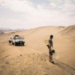 Sandboarding en Peru