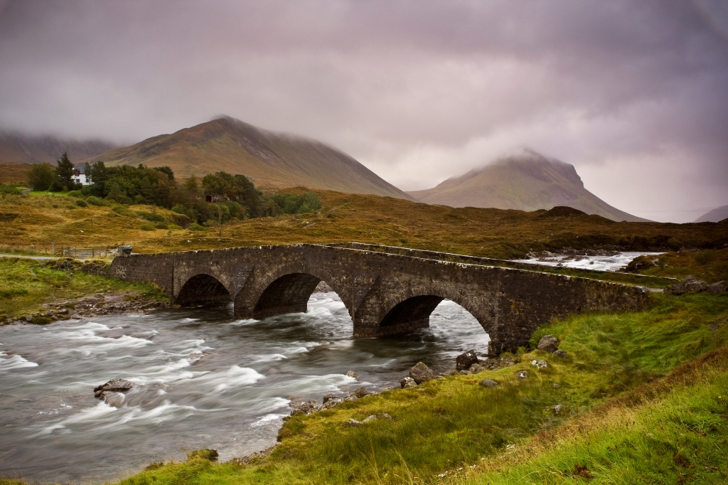 Bridge over troubled waters, Scotland