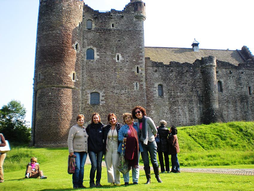 Visitar castillos de Escocia