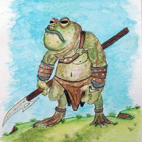 2020 - 22. Frog Spearman