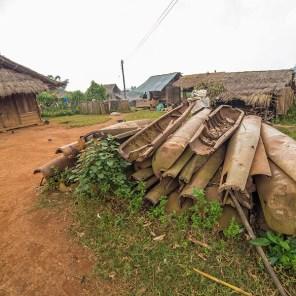 Xieng Khouang Laos - Bomb Village