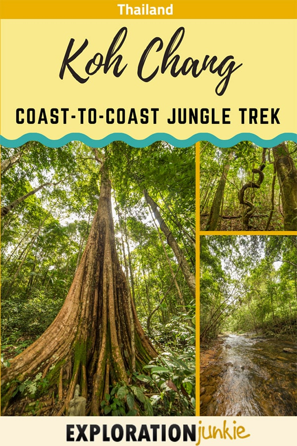 Koh Chang Jungle Trek Pinterest Image
