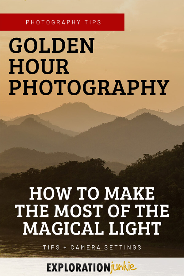 Golden Hour Photography Tips Pinterest Image