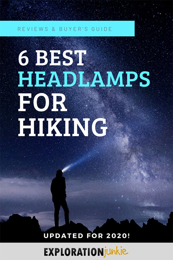 Headlamps for Hiking Pinterest Image