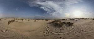 Desert near Sealine Beach