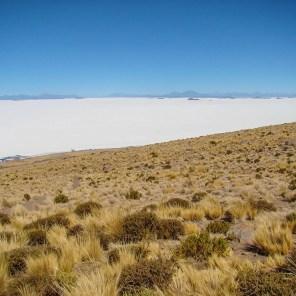 Salar de Uyuni from Tunupa