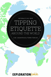 Tipping Etiquette Pin