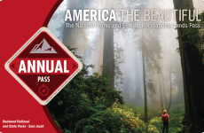 America The Beautiful annual pass for U.S. national parks