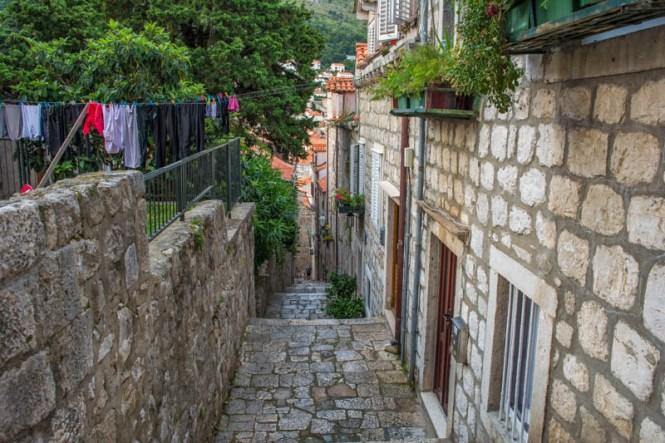 Seitenstraße in Dubrovnik