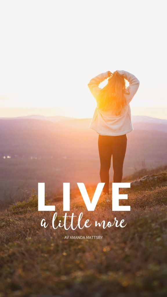 Live a little more logotyp