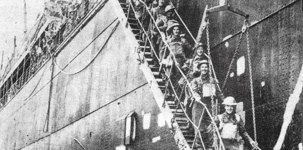 Allied troops arrive to Crete