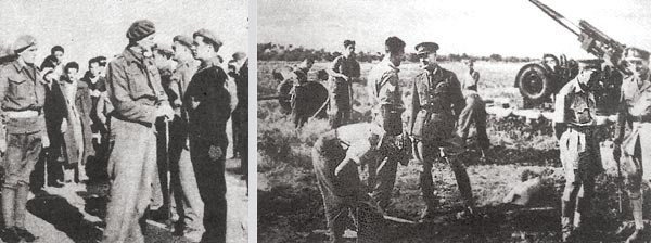 Allied troops prepare the defense of Crete