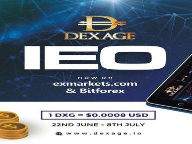 El revolucionario Exchange DEXAGE se ha asegurado una IEO en BitForex y Exmarkets