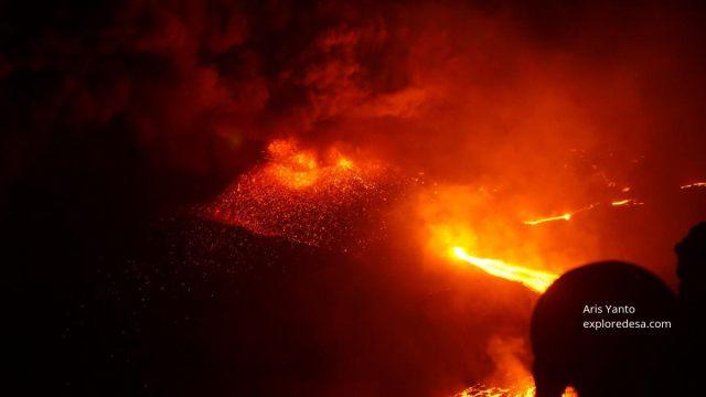Mount Raung Volcano