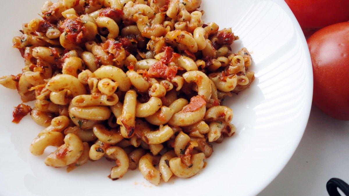Macaroni recipe Indian Style