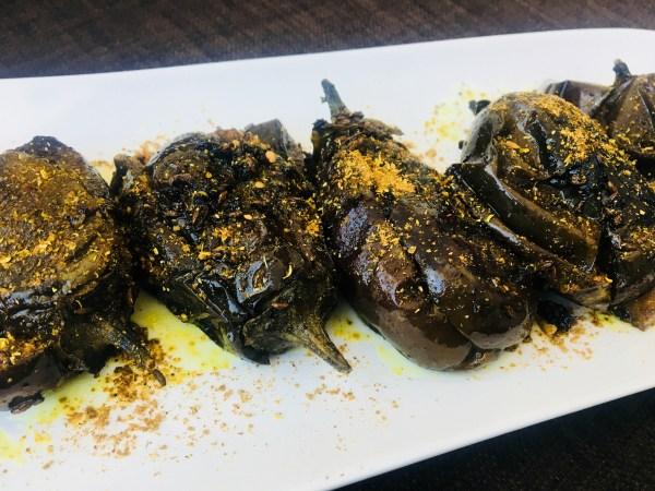Bharwa Baingan/Stuffed Eggplant