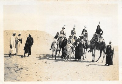 On holiday in Egypt, 1931